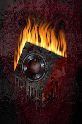Heißer Sound: Lautsprecher in Flammen
